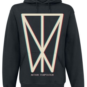 Within Temptation - Glitch Icon - Hooded sweatshirt - black product image at Soundorabilia.com