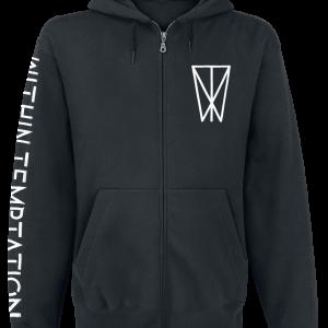 Within Temptation - Resist - Hooded zip - black product image at Soundorabilia.com
