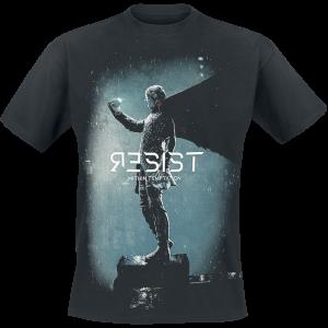 Within Temptation - Resist - T-Shirt - black product image at Soundorabilia.com