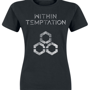 Within Temptation - Unity Logo - Girls shirt - black product image at Soundorabilia.com