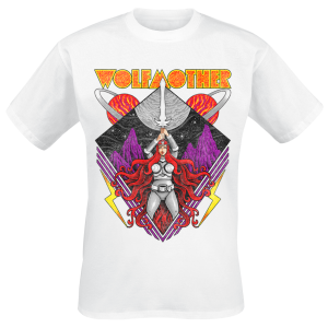 Wolfmother - Warrior - T-Shirt - white product image at Soundorabilia.com