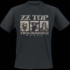 ZZ Top - Tres Hombres - T-Shirt - black product image at Soundorabilia.com