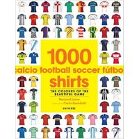 1000 Football Shirts by Bernard Lions Paperback Used cover