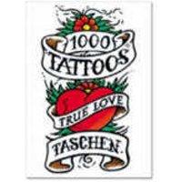 1000 Tattoos by Henk Schiffmacher & Burkhard Riemschneider Paperback Used cover