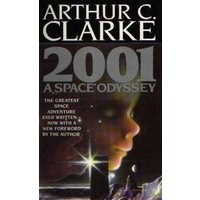 2001 by Arthur C. Clarke Paperback Used cover