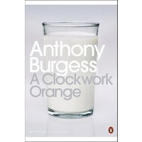 A Clockwork Orange by Anthony Burgess Paperback Used cover