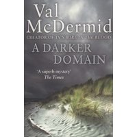 A Darker Domain by Val Mcdermid Paperback Used cover