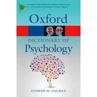 A Dictionary of Psychology by Andrew M Colman Paperback Used cover
