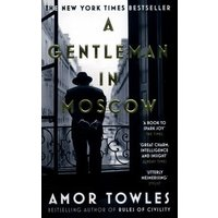 A Gentleman in Moscow by Amor Towles Book Used cover