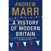 A History of Modern Britain by Andrew Marr Paperback Used cover