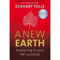 A New Earth by Eckhart Tolle Paperback Used cover