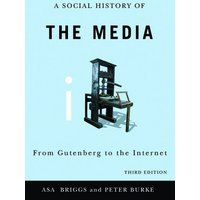 A Social History of the Media by Asa Briggs Paperback Used cover