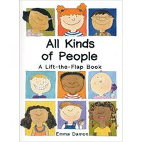 All Kinds of People by Emma Damon Hardback Used cover
