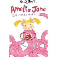 Amelia Jane Gets into Trouble by Enid Blyton Paperback Used cover