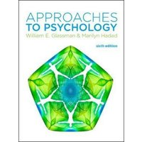 Approaches to Psychology by William Glassman Book Used cover