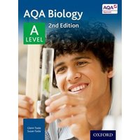 Aqa Biology a Level Student Book by Glenn Toole Paperback Used cover