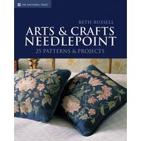 Arts & Crafts Needlepoint by Beth Russell Book Used cover