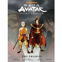 Avatar the Last Airbender the Promise by Gene Luen Yang Hardback Used cover