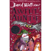 Awful Auntie by David Walliams Hardback Used cover