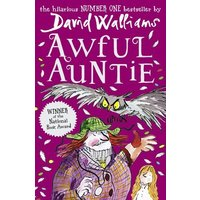 Awful Auntie by David Walliams Paperback Used cover