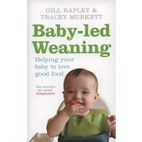 Baby-Led Weaning by Gill Rapley Paperback Used cover