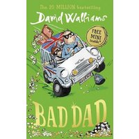Bad Dad by David Walliams Hardback Used cover