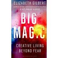 Big Magic by Elizabeth Gilbert Hardback Used cover