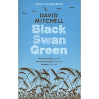 Black Swan Green by David Mitchell Paperback Used cover