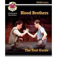 Blood Brothers by Willy Russell the Text Guide by Emma Bonney Hardback Used cover