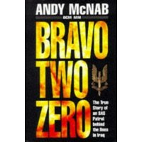 Bravo Two Zero by Andy Mcnab Book Used cover