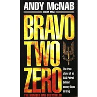 Bravo Two Zero by Andy Mcnab Paperback Used cover