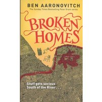 Broken Homes by Ben Aaronovitch Paperback Used cover