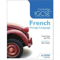 Cambridge Igcse and International Certificate French Foreign Language by Yvette Grime Paperback Used cover