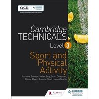 Cambridge Technicals Level 3 Sport and Physical Activity by Helen Bray Book Used cover