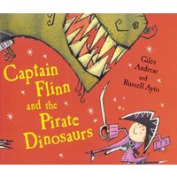 Captain Flinn and the Pirate Dinosaurs by Giles Andreae Paperback Used cover