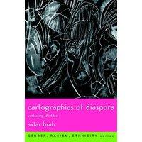 Cartographies of Diaspora by Avtar Brah Book Used cover
