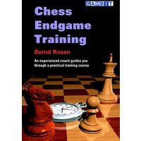 Chess Endgame Training by Bernd Rosen Book Used cover