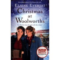 Christmas at Woolworths by Elaine Everest Book Used cover