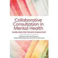 Collaborative Consultation in Mental Health by Glenda Fredman Book Used cover