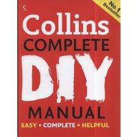 Collins Complete Diy Manual by Albert Jackson Hardback Used cover