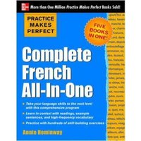 Complete French All-in-One by Annie Heminway Book Used cover