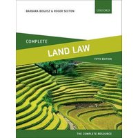 Complete Land Law by Barbara Bogusz Book Used cover