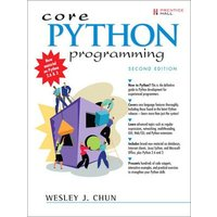 Core Python Programming by Wesley J Chun Book Used cover