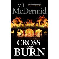 Cross and Burn by Val Mcdermid Hardback Used cover