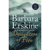Daughters of Fire by Barbara Erskine Paperback Used cover