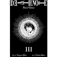 Death Note Black Volume 3 by Tsugumi Ohba Paperback Used cover