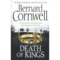 Death of Kings by Bernard Cornwell Paperback Used cover