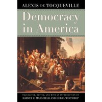 Democracy in America by Alexis De Tocqueville Book Used cover