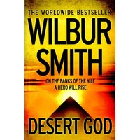 Desert God by Wilbur Smith Paperback Used cover