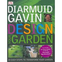 Design Your Garden by Diarmuid Gavin Hardback Used cover